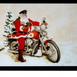 santa-on-motorcycle-by-dyke-roskelley