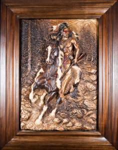 Dyke Roskelley Indian Warrior