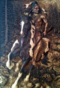 Wood Carvings by Dyke Roskelley